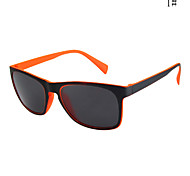 100% UV400 Square Plastic Sports Sunglasses