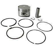 anillos de los pistones originales Lifan motor lf125cc fijados para pozo de tierra motocross moto atv 52.4mm