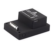2300 mah poder li-polímero bateria de volta para GoPro hero3 + / hero3