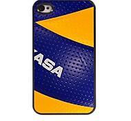 Volleyball Design Aluminium-Hülle für das iPhone 4 / 4SV