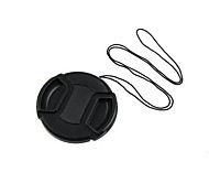 67mm Center Release Lens Cap Holder Leash Strap  +Cleaning Cloth