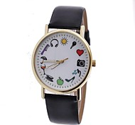 Women's Stylish Retro Minimalist Leather Watch    Circular High Quality Japanese Watch Movement(Assorted Colors)