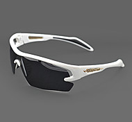Sunglasses Men / Women / Unisex's Classic / Sports / Fashion / Sunglass Style Wrap White Cycling Half-Rim
