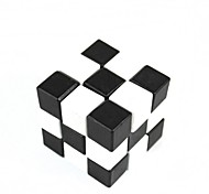 Black And White Square Wooden Educational Unlock Toys