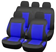 universale 9pcs set completo styling auto copertura auto accessori interni auto coprisedile pgb-bl