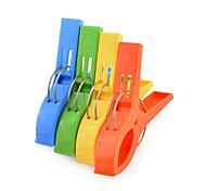 4PCS Household Product Item Services Tool Sundries Home Accessory Cloth Clip (Multicolor)