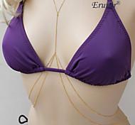 Eruner®SEXY New 2 Layer Bodychain Body Chain Jewelry Harness Swim Bikini Wholesale
