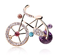 Korean Fashion Cute Little Bike Lovers Brooch
