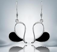 Earring Drop Earrings Jewelry Women Daily / Casual Silver Plated Silver