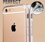 New Fashion Style Metal Hard Bumper Frame Case for iPhone 6 (Assorted Colors)