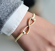 Fashion Women Infinity Cord Bracelet