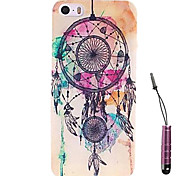 Staining Dreamcatcher  Pattern Hard Case & Touch Pen for iPhone 4/4S