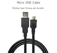 micro 28AWG cable usb * 1p + 24awg * Velocidad 2c teléfono 480m usb2.0 cable cable del cargador de la sincronización de datos para Nokia HTC Samsung