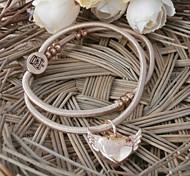 Fashion Angel's Heart Plastic Charm Bracelet(1pc)(more colors)