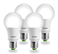 E26/E27 Lampadine globo LED G60 COB 560-630 lm Bianco caldo AC 100-240 V 4 pezzi