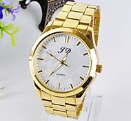 Men's Steel Checkered Steel China Movement Watches Literal Circle(Assorted Colors) Cool Watch Unique Watch