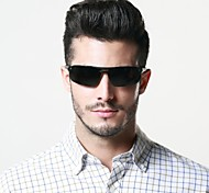 Polarized Men's Wrap Aluminum Lightweight Sunglasses