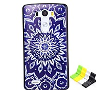 Sunflower Pattern PC Hard Case and Phone Holder for LG G3