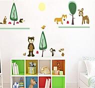animais quarto Paradise crianças decoração adesivo de parede
