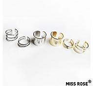 Miss rose®european Stil goldenen vernickelt Ring (3pcs)