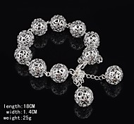 Stylish Silver Women's Bracelet