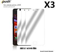 Protector de pantalla LCD del espejo de alta transparencia para i9100 de Samsung s2 (3 piezas)