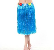 60CM Hawaii Dancing Skirt Carnival Costume