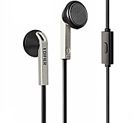 Edifier H190P Headphone Wired 3.5mm In Ear Volume Control with Microphone for iPhone 6/iPhone 6 Plus