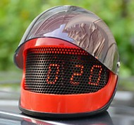 Creative Helmet LED Alarm Clock