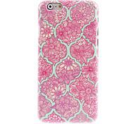 caso difícil padrão de flor elegante para iphone 6