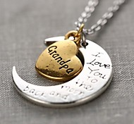 Silver Pendant Necklaces Alloy Daily / Casual Jewelry