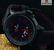 orologi di moda orologio militare uomo orologio sportivo in pelle impermeabile data auto