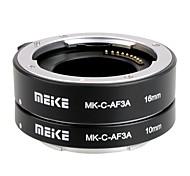 Майке МК-С-af3a металла автоматической фокусировки AF Макрос Удлинитель Набор 10мм&16 мм для Canon eosm микро DSLR камер