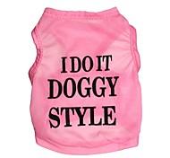 """lovely """"ich tue es Doggystyle"""" Muster terylene Weste für Hunde (verschiedene Größen)"""