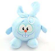 Cute Rabbit Shaped Squeaking Chewing Plush Toy for Pet Dogs(Random Colour)