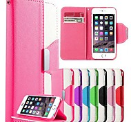 DF Colorful PU Leather  Full Body Case with Strap for iPhone 4/4S (Assorted Colors)
