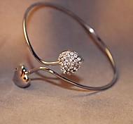 Korea Style Silver Love Cuff Bracelet(1pc)