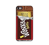 Chocolate Design Aluminum Hard Case for iPhone 5/5S