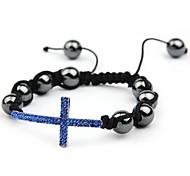 Fashion Hand - woven Shamballa Bracelets Random Color