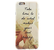 у счастливых вещи проектировать жесткий случай для IPhone 6