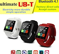 Bluetooth 4.1 U8-T Touch Screen Rechargeable Smart Sport Watch (Assorted Colors)