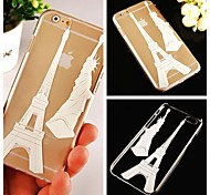 Eiffel Tower Pattern Hard Back Case for iPhone 6