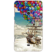 The Balloon Pirate Ship Design Hard Case for Nokia N625