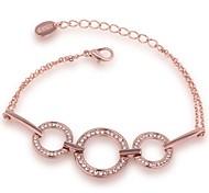 Bracelet Chaînes & Bracelets Alliage / Strass / Plaqué Or Rose Soirée / Quotidien / Décontracté Bijoux Cadeau Or Rose,1pc