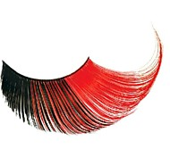 Party Queen Red and Black Gradient Carnival Eyelashes