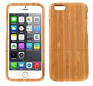 Lightweight Bamboo Fashion Environmental Protective Case Back Cover for iPhone 6