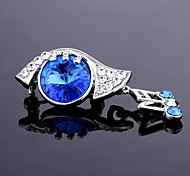 azuis broches partido liga jóia para as mulheres