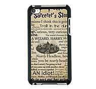 English Town Leather Vein Pattern Hard Case for iPod touch 4