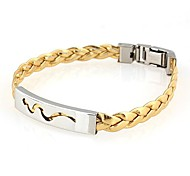 Fashion Stainless Steel Bracelets Random Color