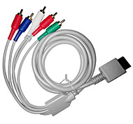 1,8 5.904ft wii 30pin Stecker auf Stecker wii hd Video-Audio TV-Display-Kabel für Wii 5RCA